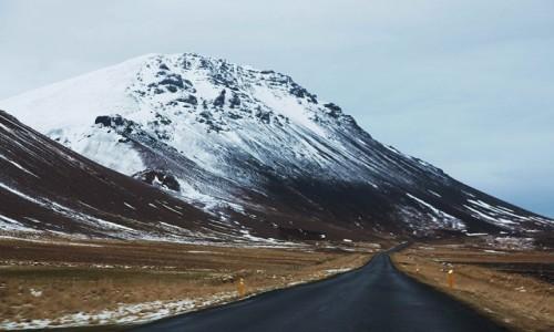 ISLANDIA / Półwysep Snæfellsnes / Arnarstapi / W drodze do Reykjaviku