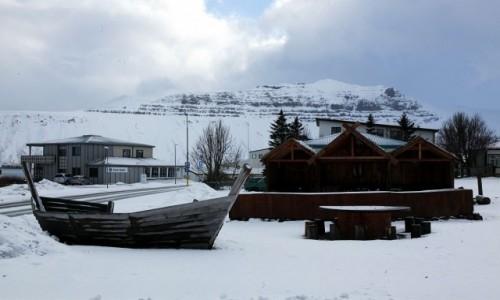 ISLANDIA / Półwysep Snæfellsnes / Grundarfjordur / Rynek