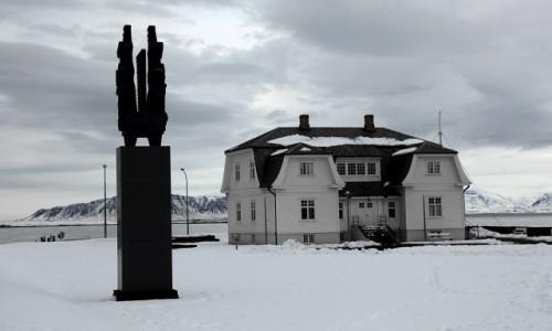 ISLANDIA / Reykjavik / Stare miasto / Tajemniczy dom