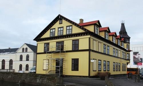 Zdjęcie ISLANDIA / Reykjavik / Stare Miasto / Domek z poddaszem