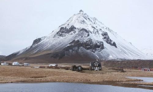 Zdjecie ISLANDIA / Półwysep Snæfellsnes / Arnarstapi / Osada rybacka