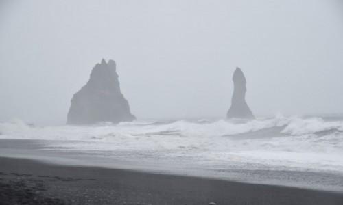 ISLANDIA / Islandia / Plaża Reynisfjara / Plaża Reynisfjara