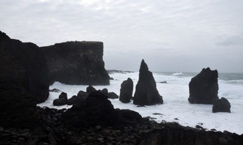 Zdjęcie ISLANDIA / Reykjanes / Valahnukur / Valahnukur