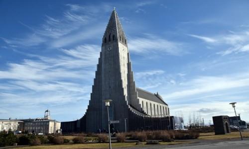 Zdjecie ISLANDIA / Reykjawik / Reykjawik / Hallgrimskirkja