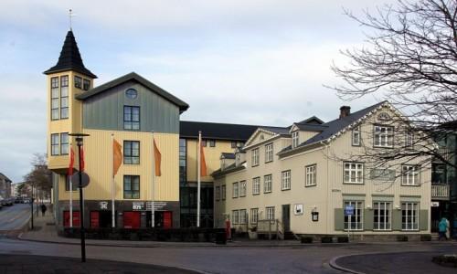 Zdjęcie ISLANDIA / Reykjavik / Dzielnica Austurvöllur /  Muzeum Osadnictwa