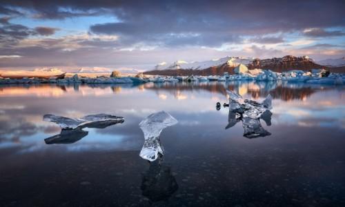 Zdjęcie ISLANDIA / zatoka Jokulsarlon / Jokulsarlon / Lodowe rzezby