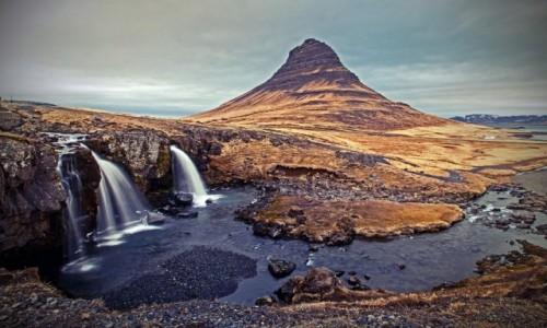 Zdjecie ISLANDIA / West region / Snæfellsnes Peninsula / Just another Kirkjufellsfoss