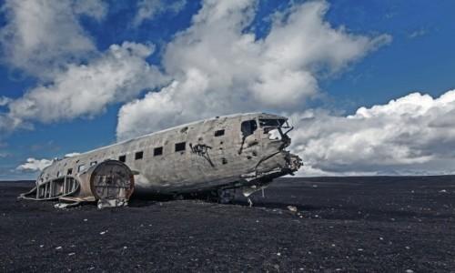 Zdjecie ISLANDIA / Sólheimasandur / South Iceland / Famous after death