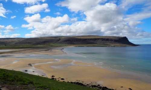 Zdjęcie ISLANDIA / Fiordy zachodnie / Fiordy zachodnie południowe / Plaża