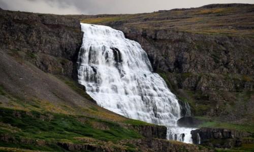 Zdjecie ISLANDIA / Fiordy zachodnie / okolice fiordu Aenarfjordur / Wodospad Dynjandi