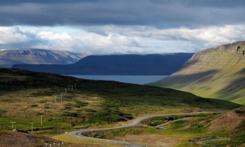 Zdjęcie ISLANDIA / Fiordy zachodnie / okolice Bildudalur / Droga