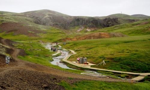 Zdjęcie ISLANDIA / Islandia południowo-zachodnia / Hveragerdi / Reykjadalur
