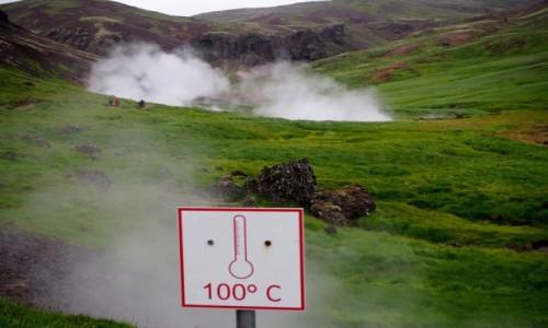 Zdjecie ISLANDIA / Islandia południowo-zachodnia / Hveragerdi / Reykjadalur