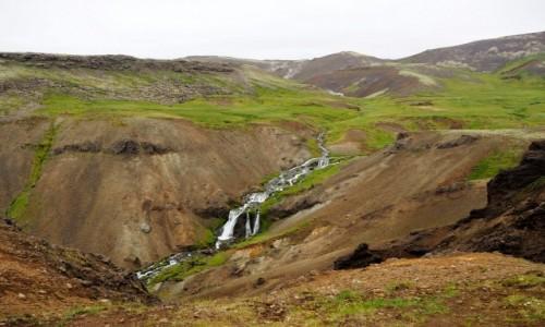 Zdjecie ISLANDIA / Islandia południowo-zachodnia / Hveragerdi / Reyjkadalur