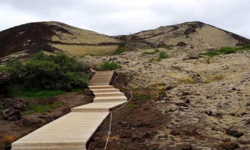 Zdjecie ISLANDIA / Islandia zachodnia / Grábrók  / Grábrók krater