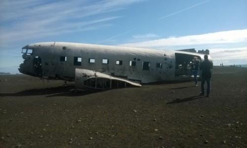Zdjęcie ISLANDIA / - / kolo oceanu / Amerykanski Douglas Super DC-3
