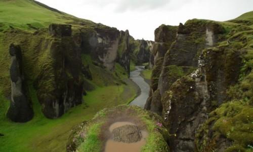 Zdjecie ISLANDIA / Południe / Kirkjubejarklaustur / Fjadrargljufur