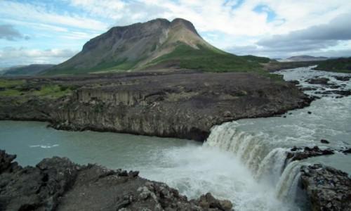 Zdjecie ISLANDIA / Południe / Thjofafoss / Thjofafoss