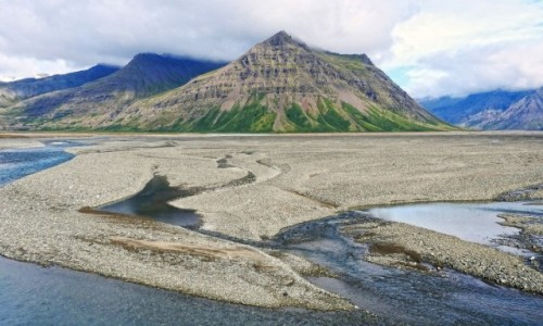 ISLANDIA / Południe / Odcinek Vik - Höfn / Widok z drogi nr 1