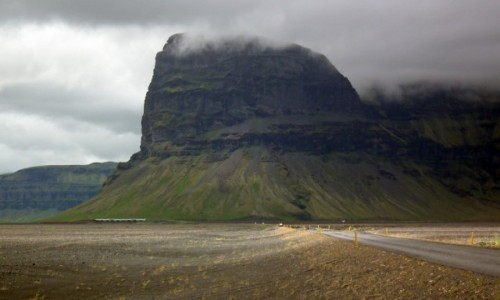 Zdjecie ISLANDIA / Południe / Odcinek Vik - Höfn / Widok z drogi nr 1