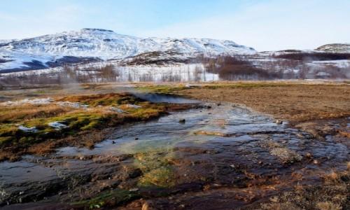 Zdjęcie ISLANDIA / okolice Reykjaviku / Geysir / Zimowa Islandia