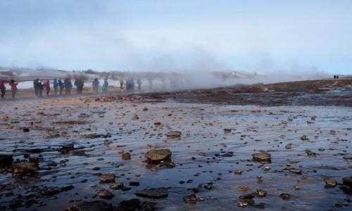 Zdjecie ISLANDIA / dolina Haukadalur / Geysir, Złoty krąg / Strokkur