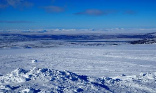 Zdjecie ISLANDIA / zachodnia  Islandia / okolice Langjökull / Zimowa Islandia