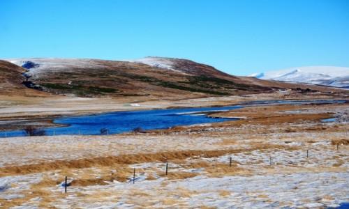Zdjecie ISLANDIA / zachodnia Islandia / okolice Husaell / Gdzieś po drodze