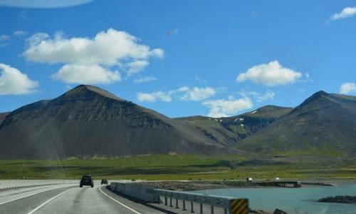 Zdjecie ISLANDIA / zachód kraju / fiordy zachodnie / W słonecznej Islandii