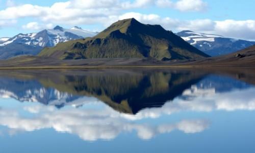 Zdjecie ISLANDIA / Lanndamanalaguar / Alftavatn / nad jeziorem Alftavatn