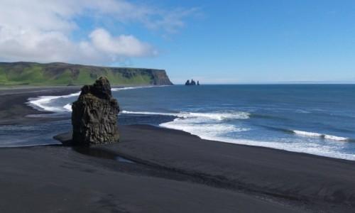 Zdjecie ISLANDIA / pn / vik i okolice / Islandia wyspa  ognia