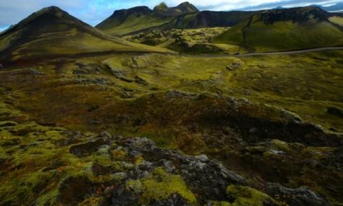 Zdjecie ISLANDIA / Lanndamanalaguar / Landmannalaugar / Zielona strona wulkanów