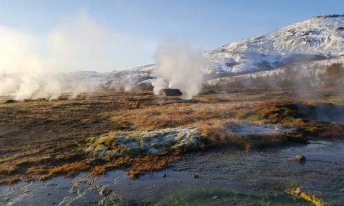 Zdjecie ISLANDIA / Golden Circle / Islandia / Islandia gejzer
