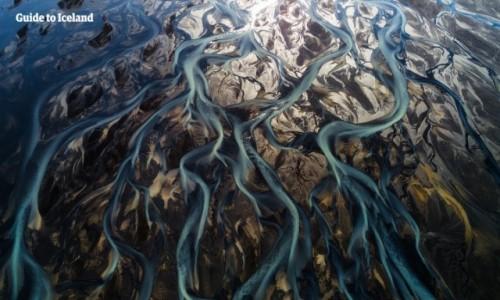 Zdjecie ISLANDIA / islandzki interior /   / Rzeka polodowcowa