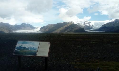 Zdjecie ISLANDIA / dorga nr 1 / Hvannadalshnukur / snieżne wulkany