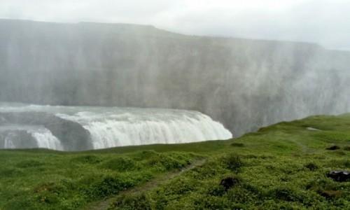 Zdjecie ISLANDIA / dorga nr 35 / Gulfoss / wodospad nr 1