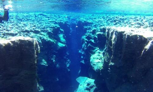 Zdjecie ISLANDIA / Thingvallavatn / Jezioro / Między płytami kontynentalnymi