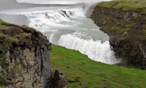 Zdjecie ISLANDIA / Golden Circle / Gullfoss / Wszędzie mokro...