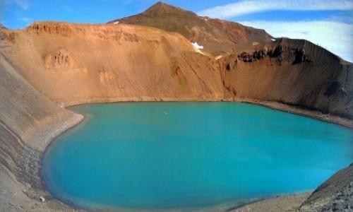 Zdjecie ISLANDIA / Okolice Myvatn / Wulkan Krafla / Krater Viti