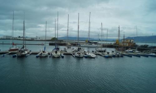 Zdjecie ISLANDIA / Reykjawik / Reykjawik / Port jachtowy