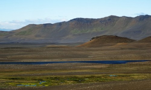 Zdjecie ISLANDIA / okolice jeziora Mywatn / gdzies po drodze / Islandzka pustynia