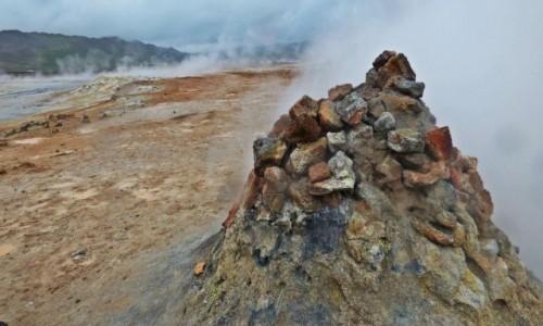 ISLANDIA / Islandia północna / Hverir / Islandia - kraina tysiąca planet