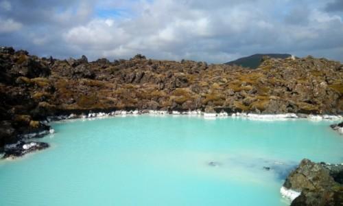 Zdjecie ISLANDIA / Półwysep Reykjanes / Okolice Grindavik / Bardzo Błękitna Laguna