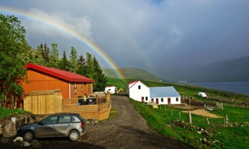 Zdjecie ISLANDIA / Islandia zachodnia / Tálknafjörður / Islandia - kraina tysiąca planet