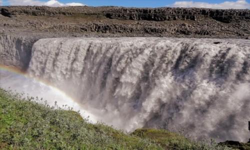 Zdjecie ISLANDIA / Pólnocny -wschód wyspy / najbliżej, jak się dało / Najpiękniejsze wodospady Islandii: siła Dettifoss