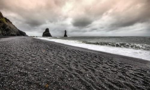 Zdjecie ISLANDIA / ok. Dyrholaey / Reynisfjara / Czarna plaża...