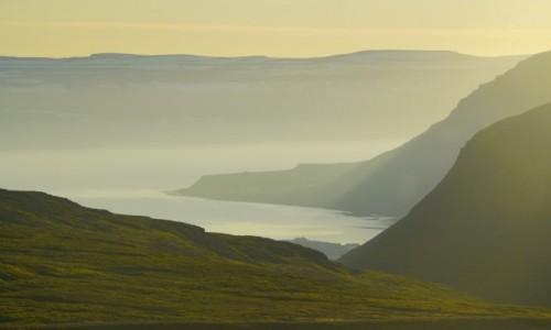 Zdjecie ISLANDIA / Fjordy Zachodnie / nocleg nad Isafjordur / Przed świtem...