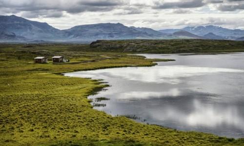 Zdjecie ISLANDIA / Fjordy Zachodnie / Fjordy Zachodnie / Islandzkie dacze