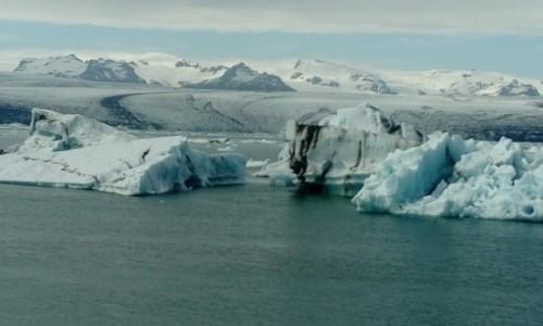 Zdjecie ISLANDIA / Jokulsarlon / Południowa Islandia / Lodowiec