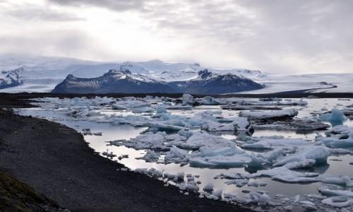 ISLANDIA / Vatnajokull / Jökulsárlón / Laguna Jökulsárlón